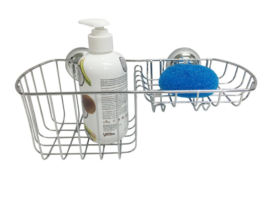 Wee\'s Beyond Stainless Steel Wall Mounted Shower Caddy & Reviews ...