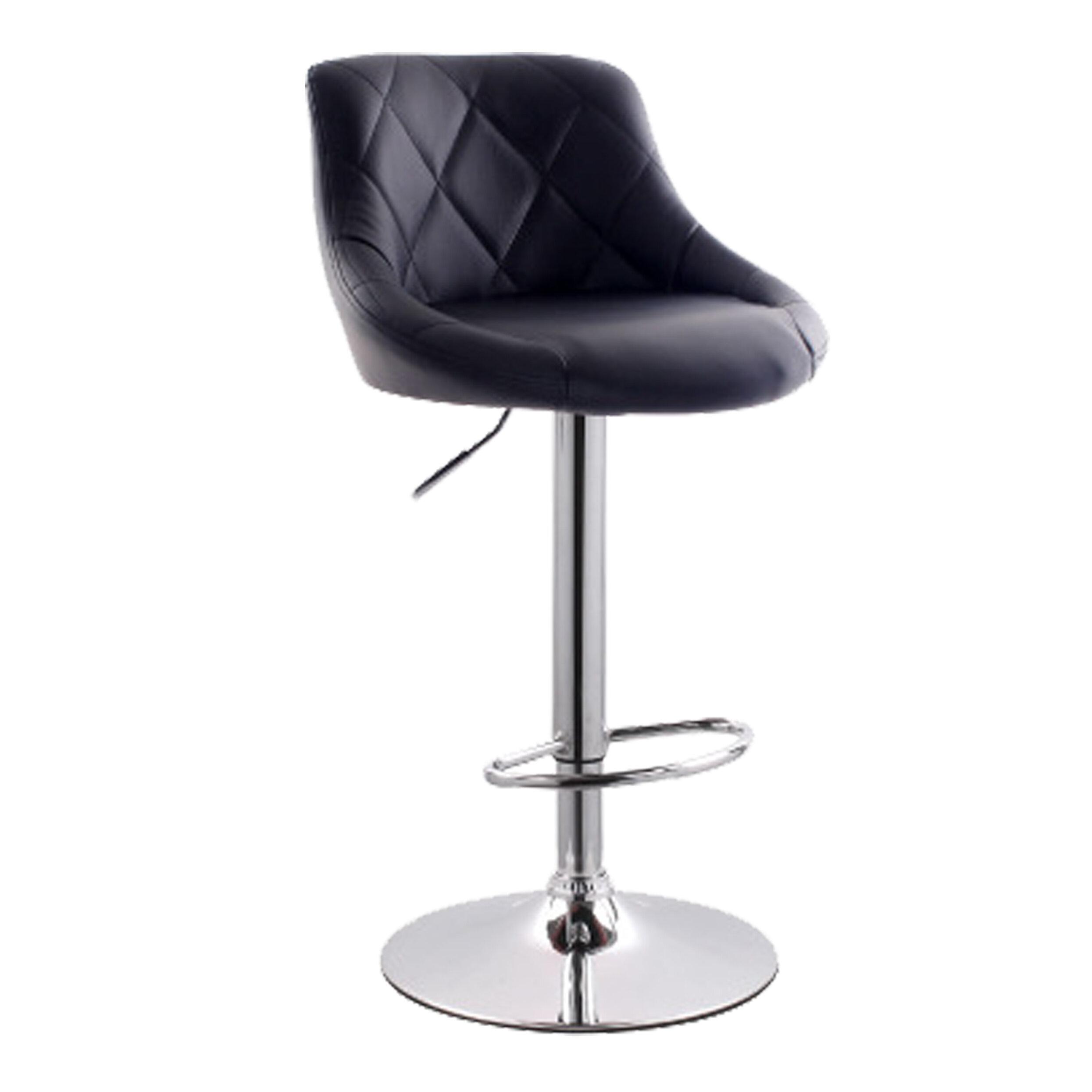 46ea984626b539 Tabourets de bar en bois  Style d assise - Assise ronde   Wayfair.ca