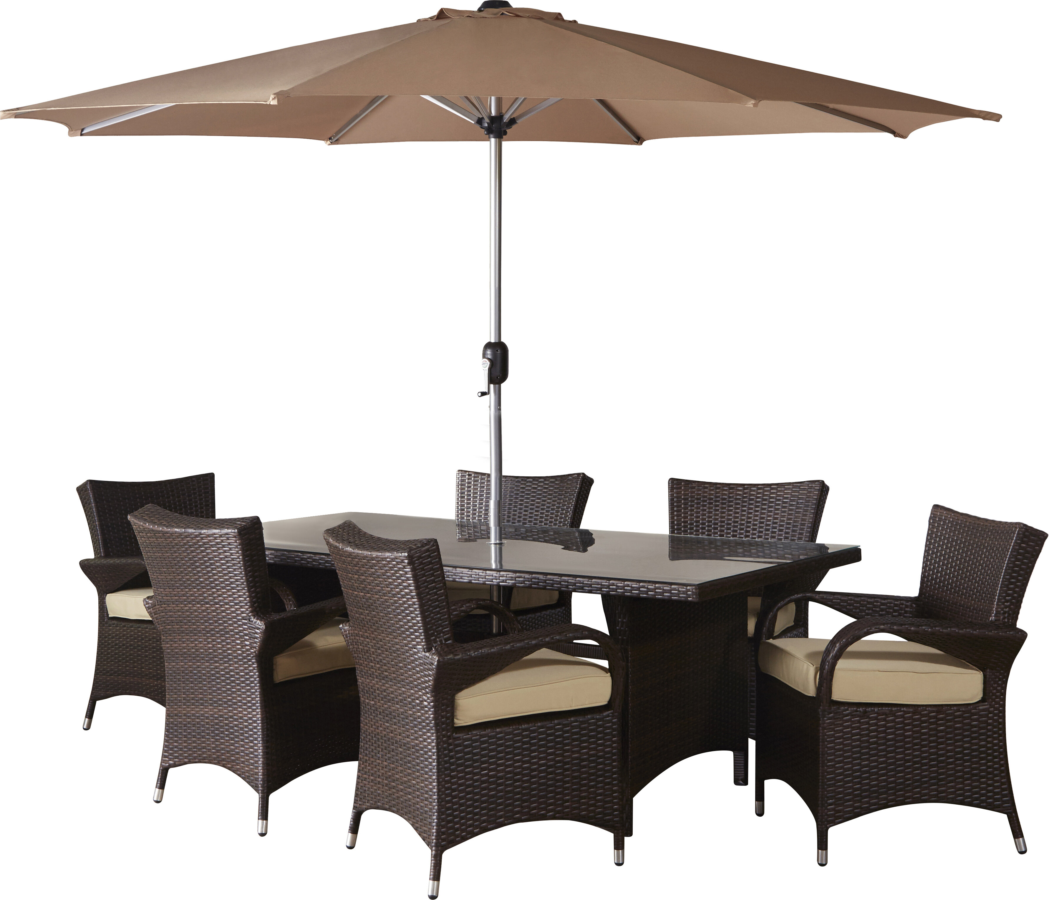 Unique Patio Table and Chairs with Umbrella