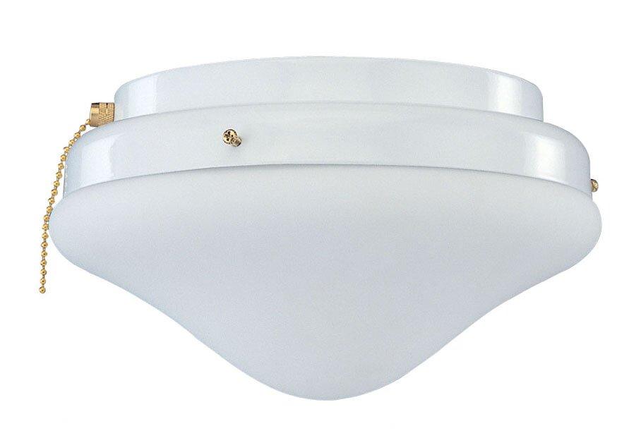 2-Light Schoolhouse Ceiling Fan Light Kit