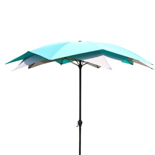 Blossom 2.7m Traditional Parasol by All Home