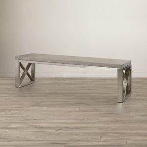 Catalan Upholstered Bench by Sunpan Modern