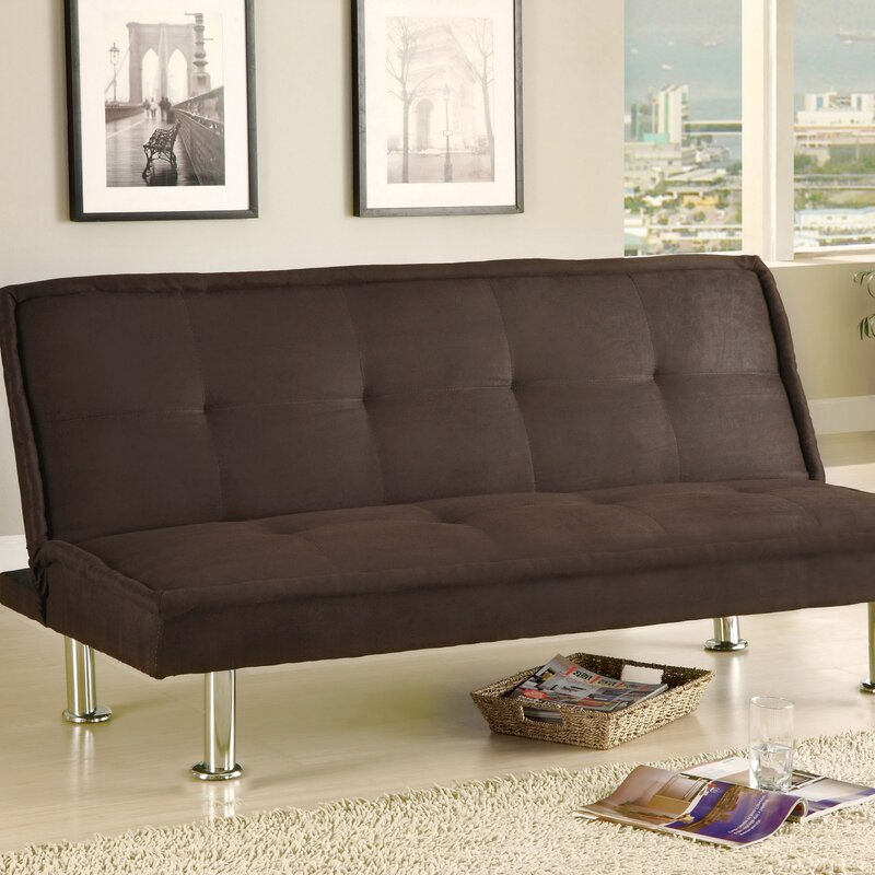 Hokku Designs Convertible Sofa Reviews Wayfair