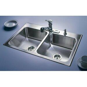Bathroom Sinks 19 X 21 just manufacturing kitchen sinks you'll love | wayfair