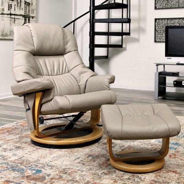 Merveilleux Red Barrel Studio Reclining Massage Chair With Ottoman U0026 Reviews   Wayfair