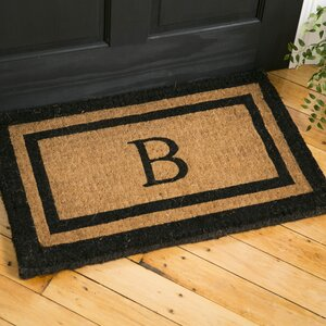 Classic Monogrammed Welcome Doormat