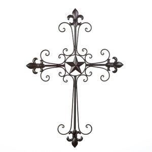 Lone Star Cross Wall Decor