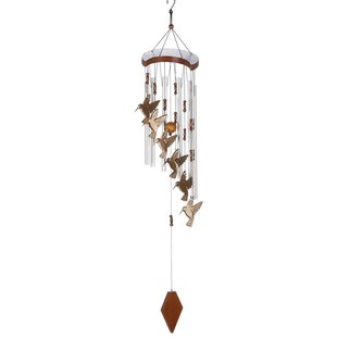 Hummingbird Flutter Wind Chime