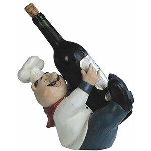 Barton Upright Chef Tabletop Wine Bottle Rack