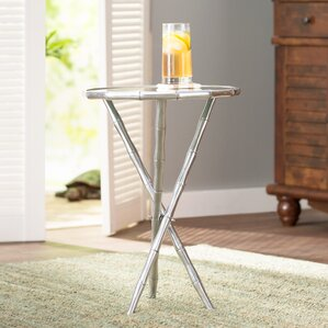 Lynsey Round End Table by Beachcrest Home