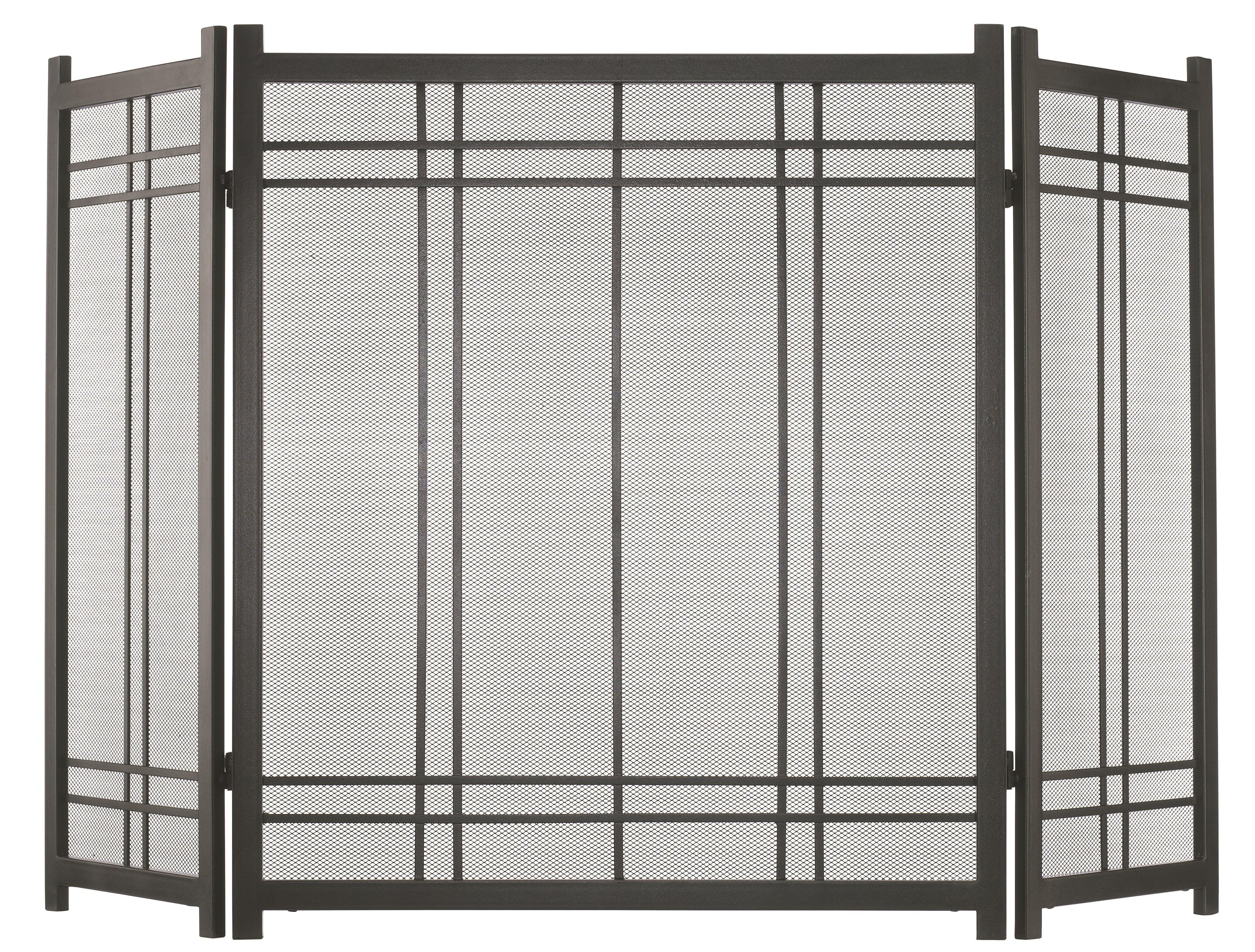 panel black light x pilgrim screen fireplace tri tea white three