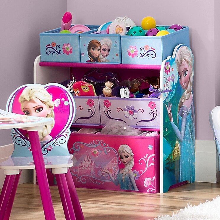 default_name - Delta Children Disney Frozen Toy Organizer & Reviews Wayfair