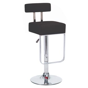 Blok Adjustable Height Swivel Bar Stool (Set of 4)