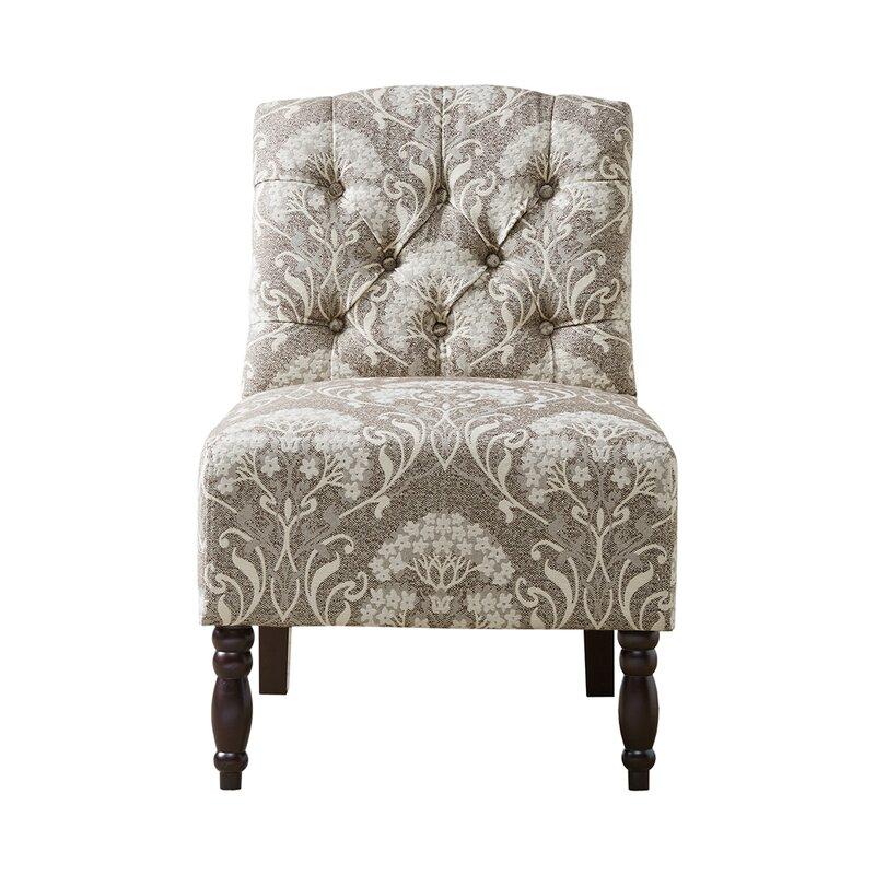 Behling Tufted Slipper Chair