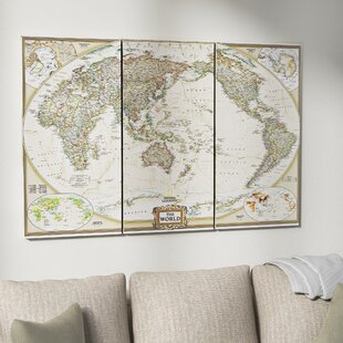 World map wall art gumiabroncs Choice Image