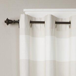Buckwalter Single Curtain Rod And Hardware Set