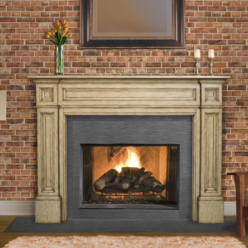 Pearl Mantels The Classique Fireplace Mantel Surround & Reviews ...
