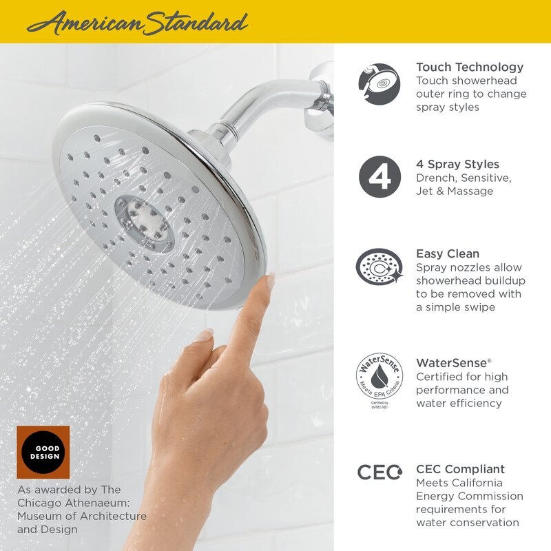 Spectra Drench Fixed Shower Head