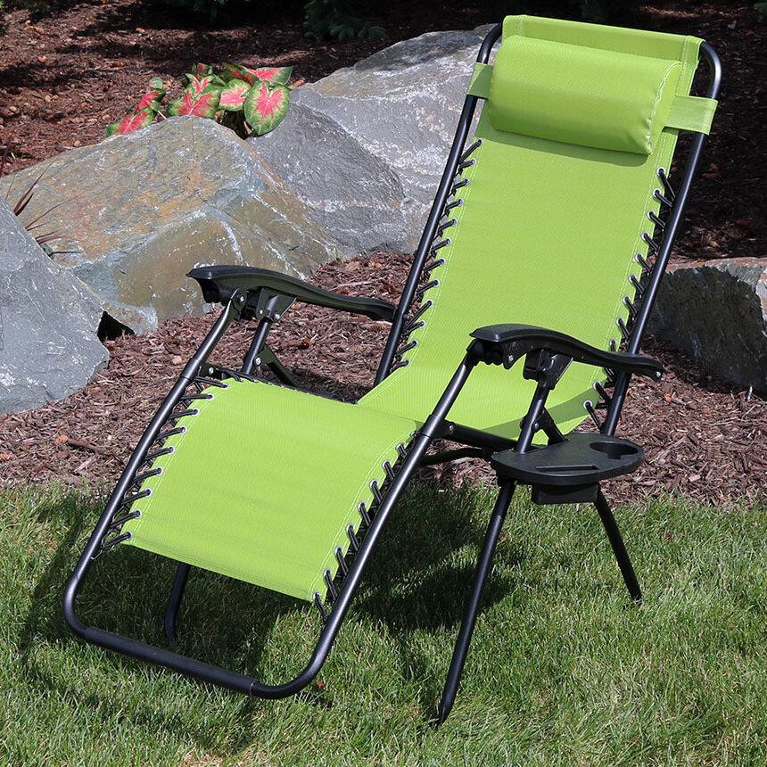 Sunnydaze Decor Reclining Zero Gravity Chair Wayfair