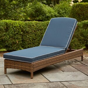 Lawson Chaise Lounge with Cushions