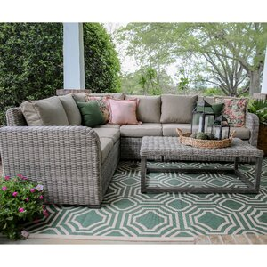 Forsyth 5 Piece Sectional Set with Cushions