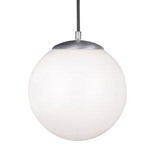 Modern contemporary outdoor globe pendant allmodern soules led globe pendant aloadofball Gallery