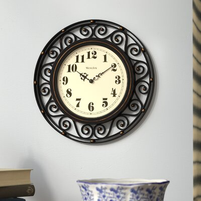 Wrought Iron Wall Clocks Wayfair