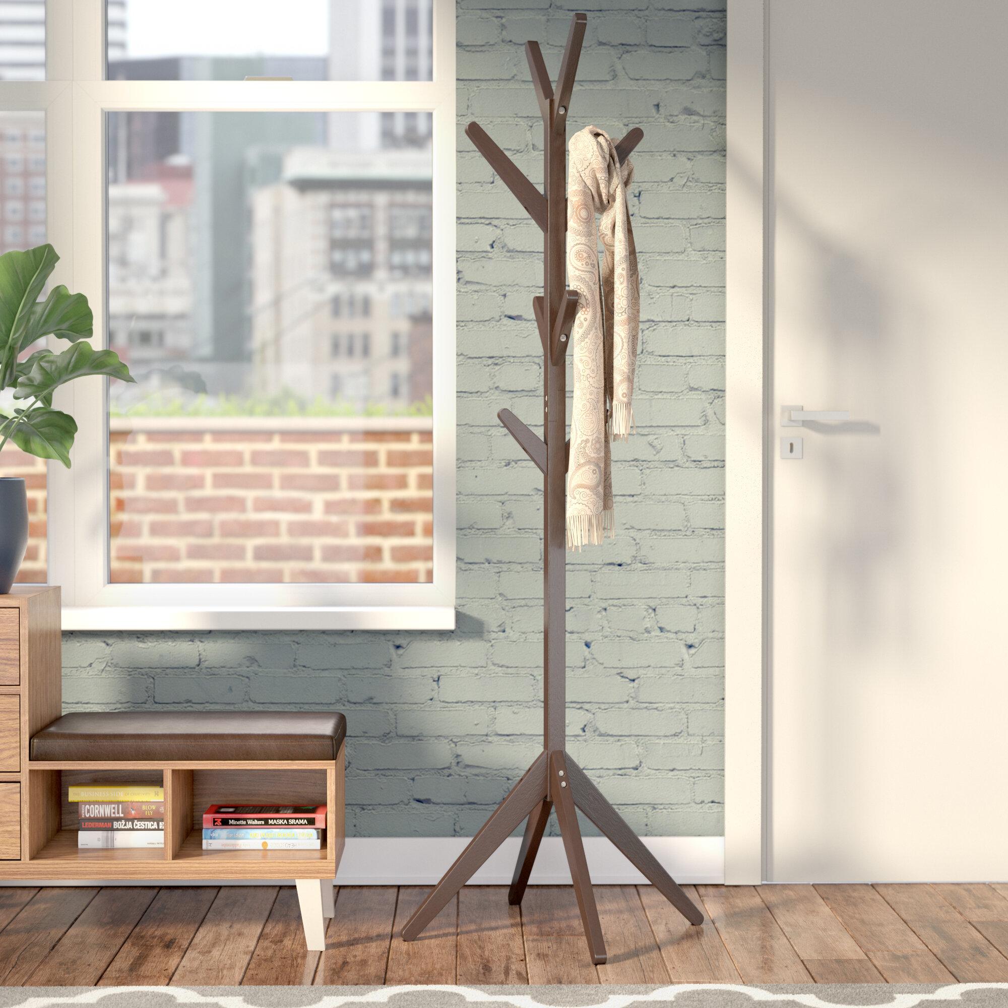 standing lonielife beautiful coat designs wooden gentleman rack decoration