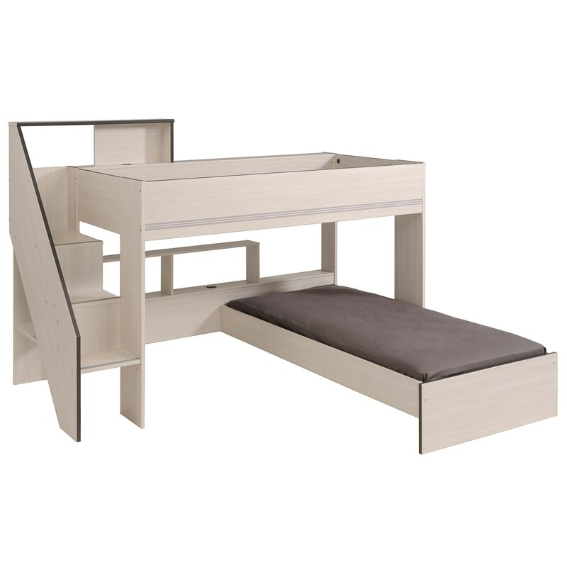 Gravity Twin Over Twin L Shaped Bunk Bed