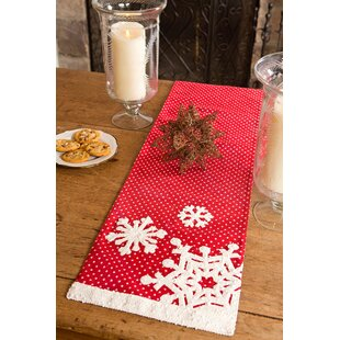 Snowflake Christmas Table Runner