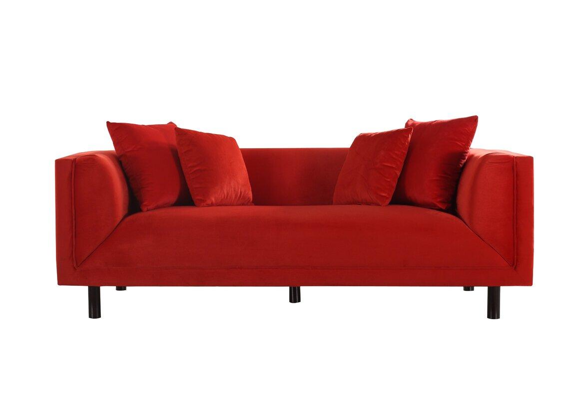 Modern Furniture Newport Vt madison home usa mid-century modern sofa & reviews   wayfair