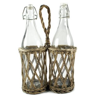 Picnic 2 Bottle Hanging Wine Rack (Set of 2)