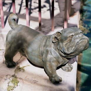 Finest English Bulldog Statue | Wayfair AI54