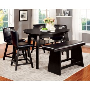 Lawrence 6 Piece Counter Height Pub Table Set