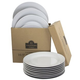 Romer 10.5  Catering Packs Round Dinner Plate (Set of 12)  sc 1 st  Wayfair & Dinner Plates Youu0027ll Love | Wayfair