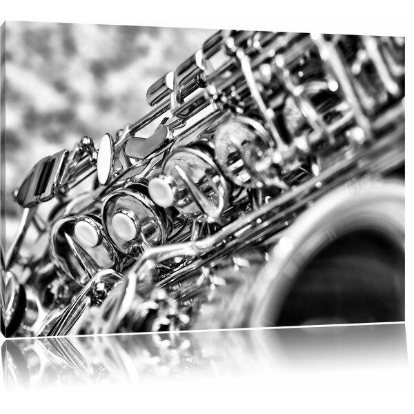 Home Loft Concept Saxophone Wall Art on Canvas | Wayfair.co.uk