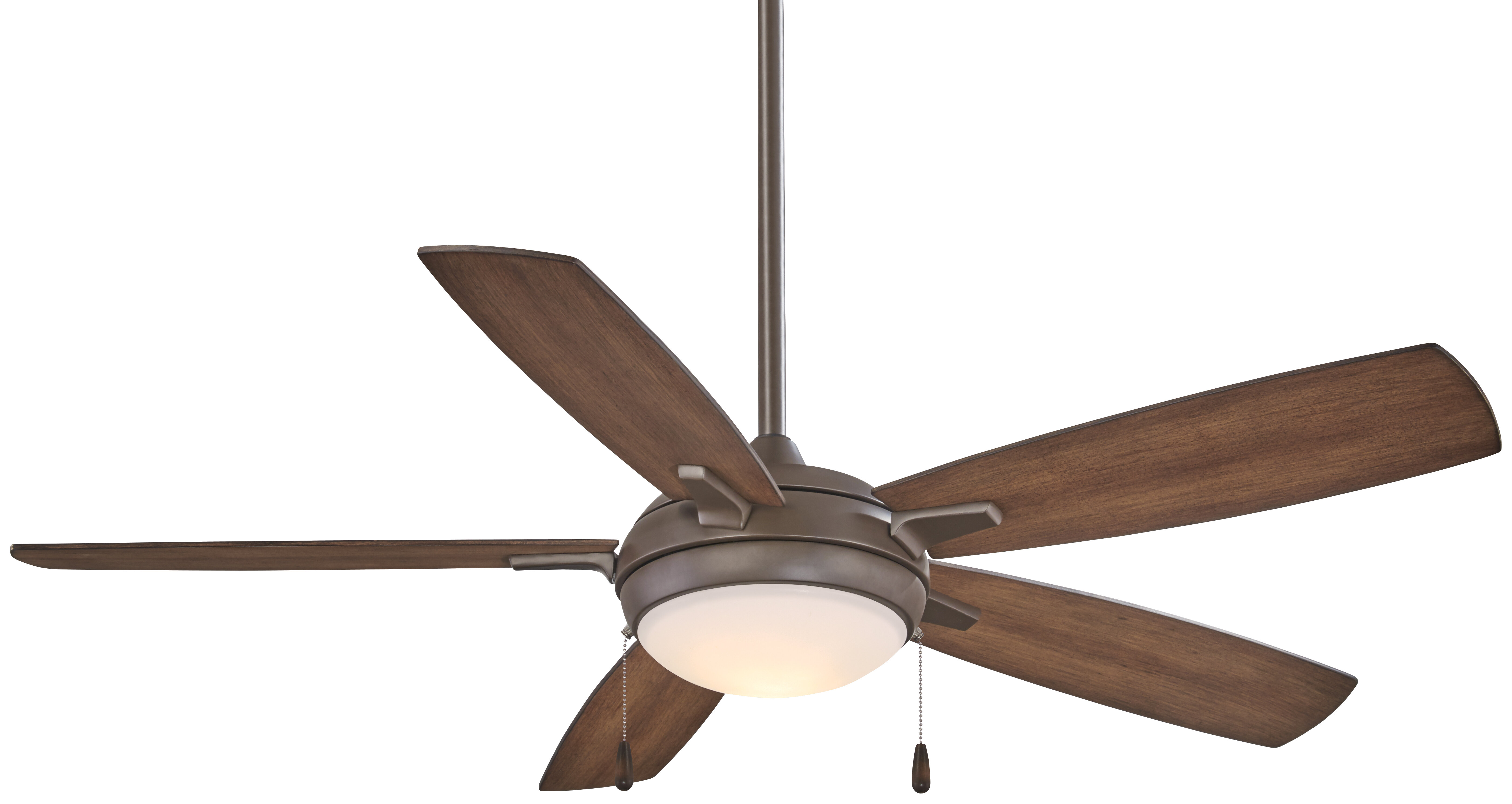 "Minka Aire 54"" Lun Aire LED 5 Blade Ceiling Fan & Reviews"