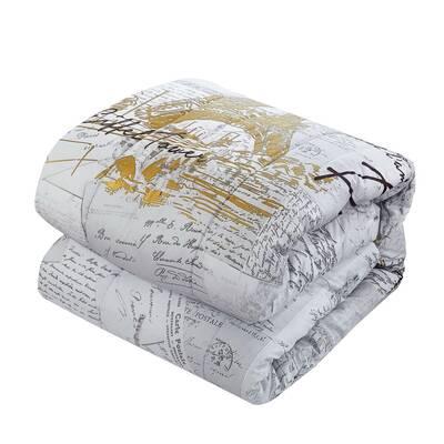 Delightful Roux Reversible Comforter Set