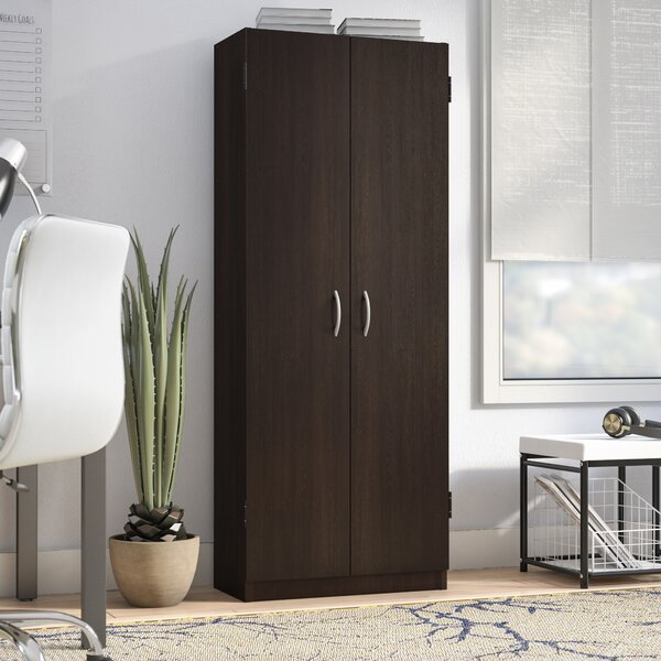 Modern Amp Contemporary Tall 2 Door Storage Cabinet Allmodern