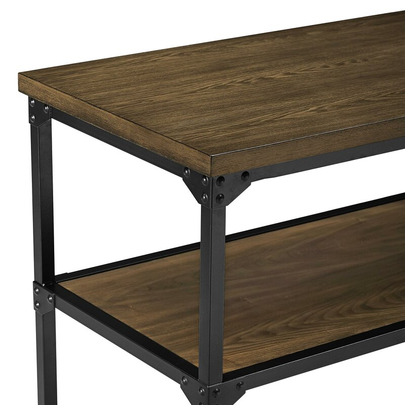 Delesha Multifunction Prep Table With Wood Top