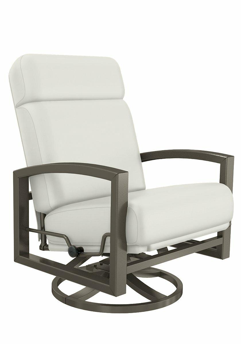 Tropitone Patio Chairs: Tropitone Lakeside Patio Chair With Cushion