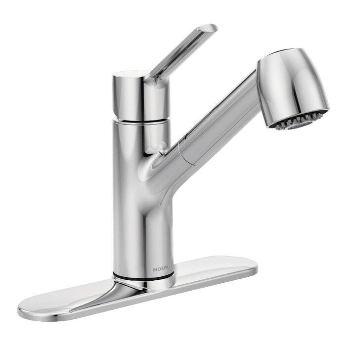 Nice Moen Pullout Kitchen Faucet Photos >> Moen 7560c Extensa One ...