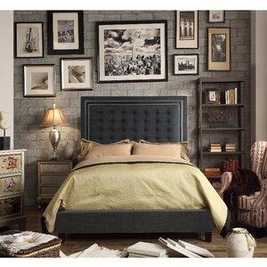 Hidalgo Queen Upholstered Panel Bed