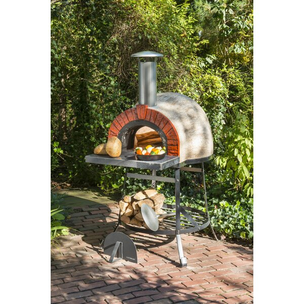 Rustic Cedar Rustic Wood Fired Oven Faux Brick Front