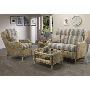 Stewarton 4 Piece Sofa Set by Beachcrest Home