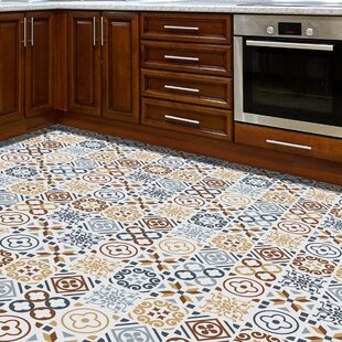 Wall 120x60 cm Mosaic Tile in Grey/Brown by World Menagerie