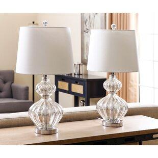 Set Of Two Lamps Wayfair