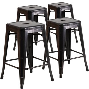 24'' Bar Stool (Set Of 4) Today Sale Only