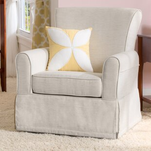 Beau Small Swivel Glider Chair | Wayfair