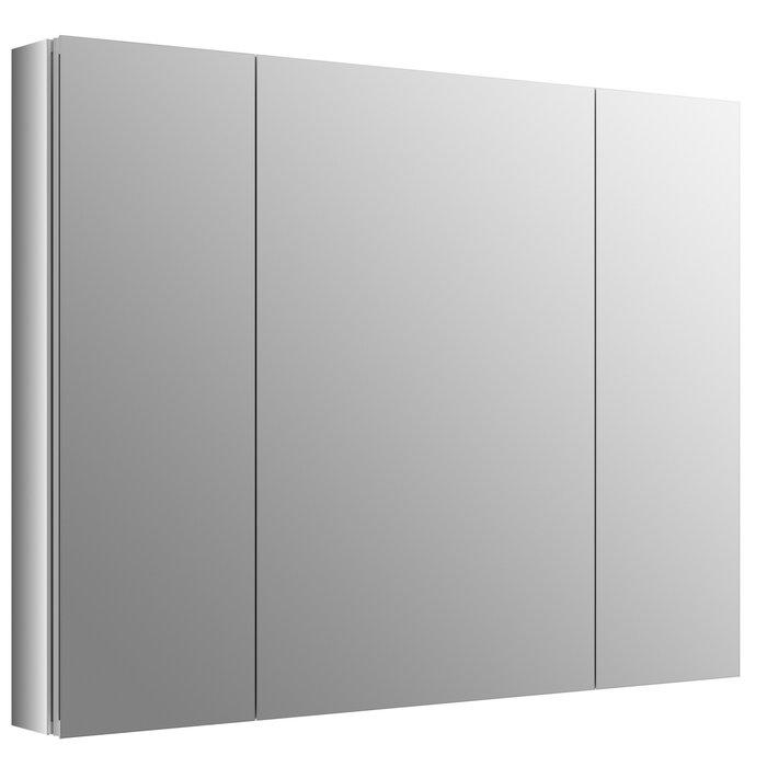 kohler verdera 40 x 30 aluminum medicine cabinet reviews rh wayfair ca